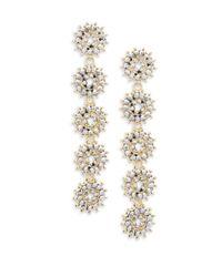 Saks Fifth Avenue - Metallic Sunburst Drop Earrings - Lyst