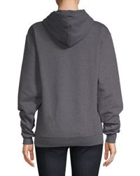 Knowlita Gray Downtown Or Nowhere Hoodie