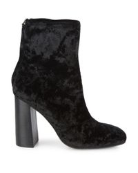 French Connection - Black Capri Block Heel Boots - Lyst