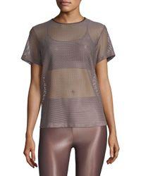 Koral Multicolor Size Up Mesh T-shirt