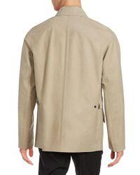Ralph Lauren Purple Label Natural Caleb Leather Jacket for men