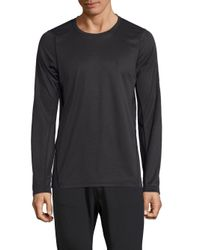 J.Lindeberg - Black Active Long Sleeve Tee for Men - Lyst