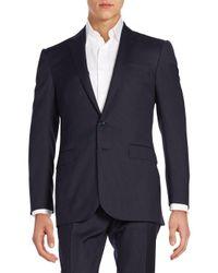 Ralph Lauren Black Label - Blue Anthony Pin Dot Striped Suit for Men - Lyst