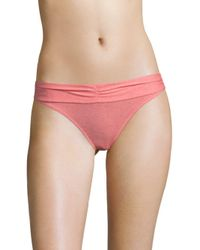 Heidi Klum - Pink Before Sunrise Bikini Swim Bottoms - Lyst