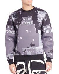 Haculla - Gray B.i.g. City Nyc Print Sweatshirt for Men - Lyst