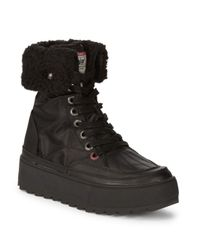 Pajar Black Royalty Leather Boot