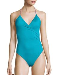 Lazul - Blue Marylin One-piece Swimsuit - Lyst