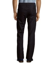 7 For All Mankind Blue The Straight Clean-pocket Jeans for men