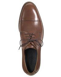 Cole Haan Black Lenox Hill Cap-toe Oxfords for men