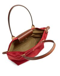 Longchamp Brown Le Pliage Large Tote