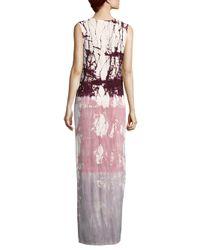 Young Fabulous & Broke Pink Francesca Maxi Dress