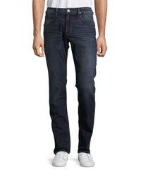 Hudson Blue Slim Straight-leg Jeans for men