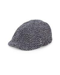 Block Headwear | Blue Tweed Driving Cap for Men | Lyst