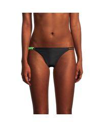Red Carter Black Side Chain Bikini Bottom