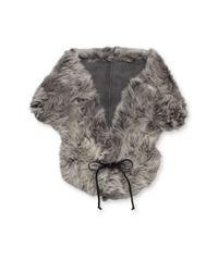 Ugg - Gray Classic Sheepskin Shearling Shrug - Lyst
