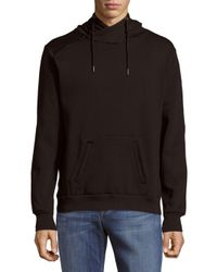 Sovereign Code Black Long Sleeve Hoodie for men
