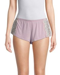 Cosabella - Purple Pret-a-porter Tap Shorts - Lyst