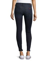 7 For All Mankind - Blue The Skinny Nouveau New York Jeans - Lyst