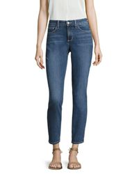 NYDJ Blue Alina Convertible Ankle Length Jeans