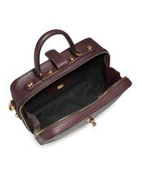 Dolce & Gabbana Multicolor Convertible Leather Crossbody Bag