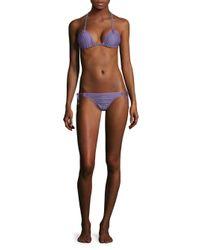 Thorsun - Blue Two-piece Alexa Luna Bikini - Lyst