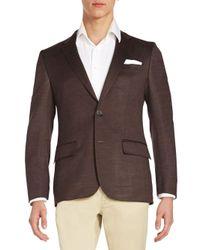 BOSS Brown Hadley Two-button Sportcoat for men