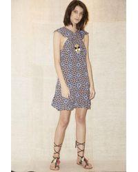 Lyst - Antik Batik Arty Dress in Blue 3ca0f132f
