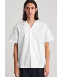 Saturdays NYC - White Canty Solid Button Down Shirt for Men - Lyst