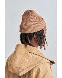 Saturdays NYC - Natural Waffle Crepe Beanie for Men - Lyst