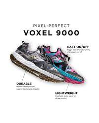 Saucony Blue Voxel 9000 Sneaker for men
