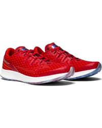 Saucony Red Freedom Freedom