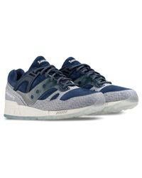 Saucony Blue Dirty Snow Ii Grid Sd for men