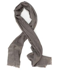 Canali Natural Classic Scarf Beige Cashmere for men