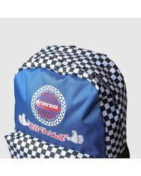 Vans Blue Accessories Navy & Red Bmx Backpack for men