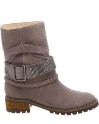 Schutz - Brown Kiara Suede Ankle Boots - Lyst