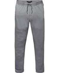 Scotch & Soda | Gray Mott - Jogger Styled Dress Trousers Super Slim Fit for Men | Lyst