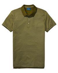 Scotch & Soda - Multicolor Mercerized Jersey Polo for Men - Lyst