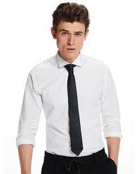 Scotch & Soda | Blue Polkadot Tie for Men | Lyst