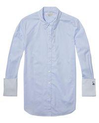 Scotch & Soda - Blue Preppy Shirt - Lyst