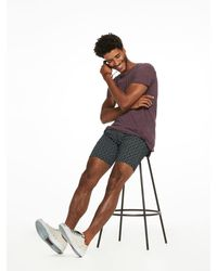 Scotch & Soda - Purple Oil Washed T-shirt for Men - Lyst
