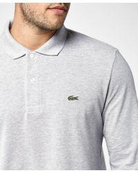 Lacoste Multicolor L1313 Long Sleeve Polo Shirt for men