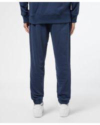 Tommy Hilfiger Blue Tape Cuffed Fleece Pants for men