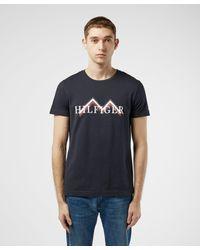 Tommy Hilfiger Blue Mountain Short Sleeve T-shirt for men
