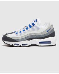 Nike Blue Air Max 95 for men