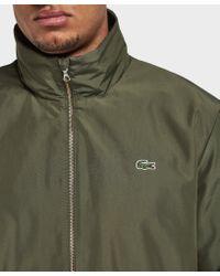 Lacoste - Green Lightweight Jacket - Online Exclusive for Men - Lyst