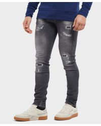 Replay Blue Anbass Slim Jeans for men