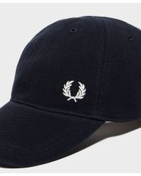 Fred Perry - Blue Pique Cap for Men - Lyst