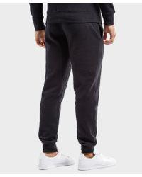 Barbour Black International Fleece Track Pants - Exclusive for men