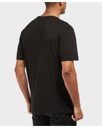 Lacoste Black Valance Crew Short Sleeve T-shirt for men