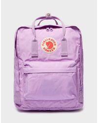 Fjallraven Purple Fjallraven Kanken Classic Backpack for men
